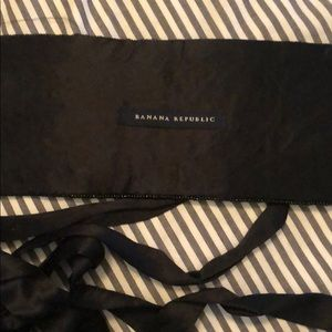 Banana Republic Accessories - Banana Republic M tuxedo belt, beaded, with ties,